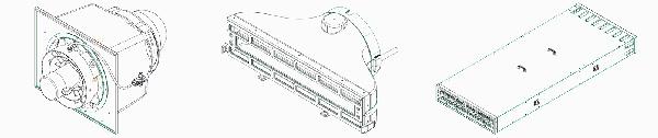 Figure 5 – Modules de l'échangeur de chaleur.